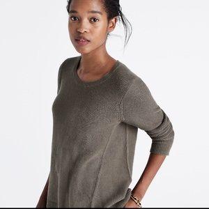 Madewell gray sweater xsmall
